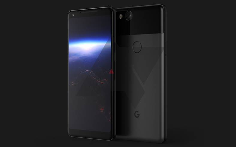 Google Pixel 2 Marime iPhone 8 iPhone X