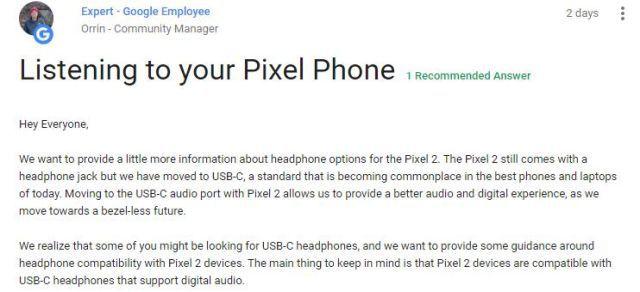 Google Pixel 2 Schimbarea Ironizata iPhone 7