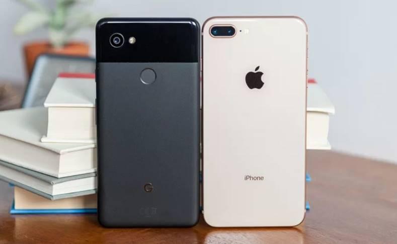 Google Pixel 2 XL iPhone 8 Plus Fragil