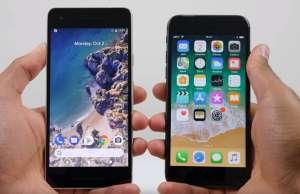 Google Pixel 2 comparatie iPhone 8