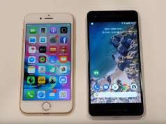 Google Pixel 2 iPhone 8 Comparatie