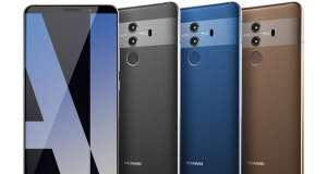 Huawei Mate 10 Pro iPhone 8 iPhone X