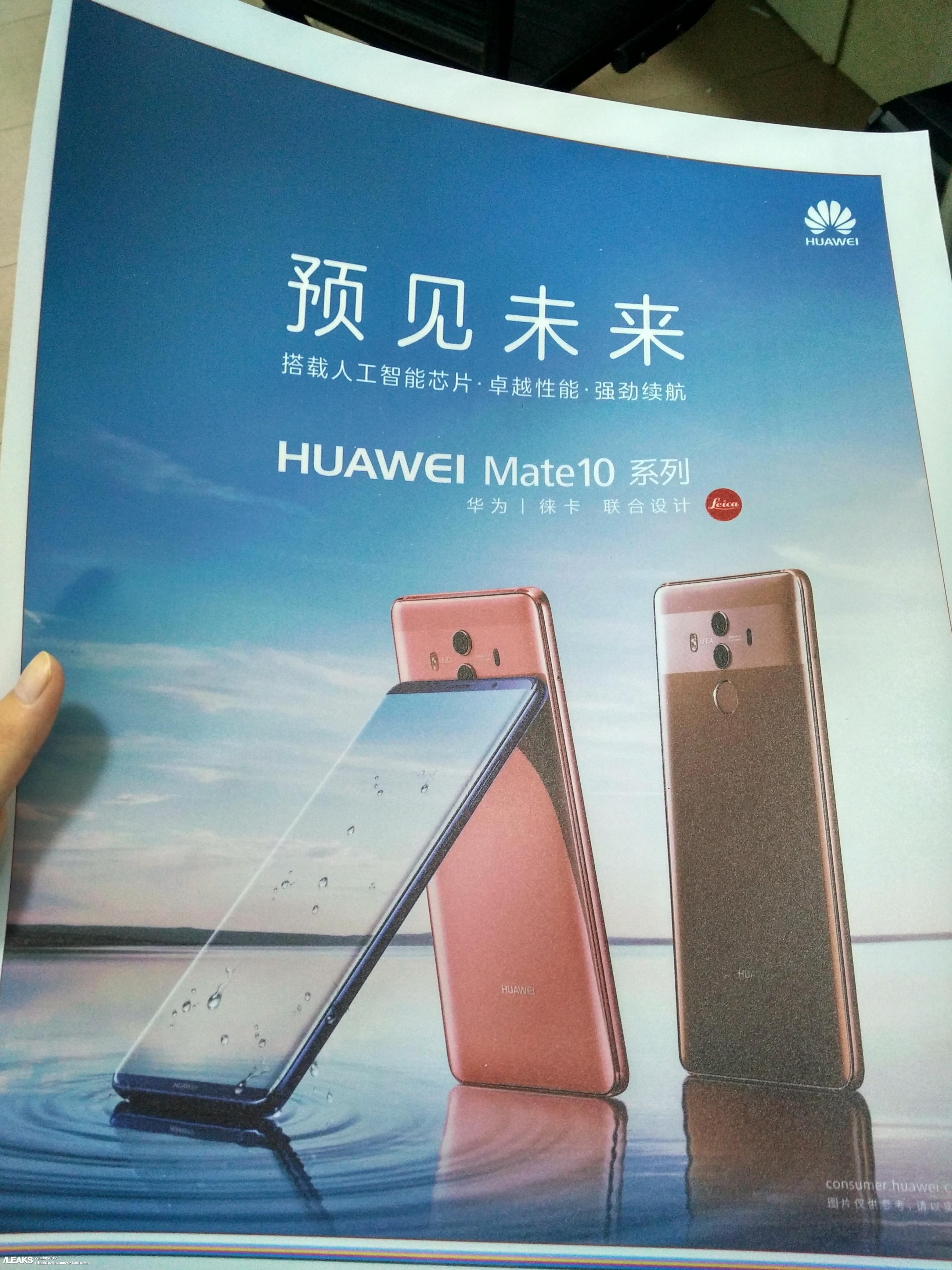 Huawei Mate 10 Pro poster