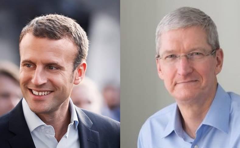 Presedintele Apple s-a intalni cu cel al Frantei, iata ce au Discutat