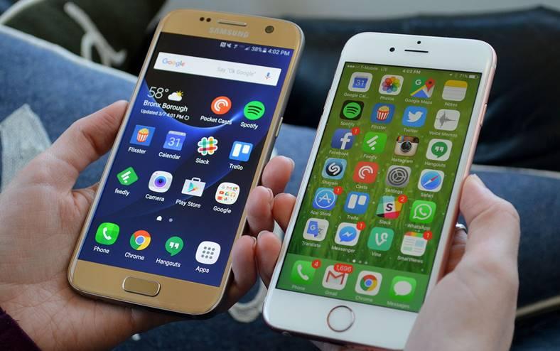Samsung Galaxy S7 Recomandat iPhone 8