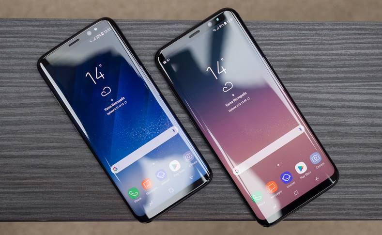 Samsung Galaxy S8 Android 8 2018