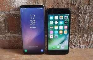 Samsung Galaxy S8 esuat iPhone