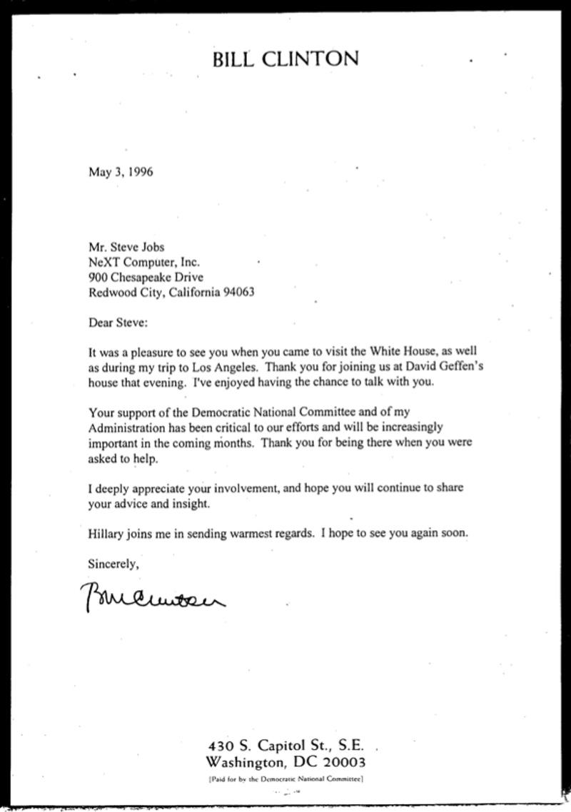 Steve Jobs consiliat presedinte 6