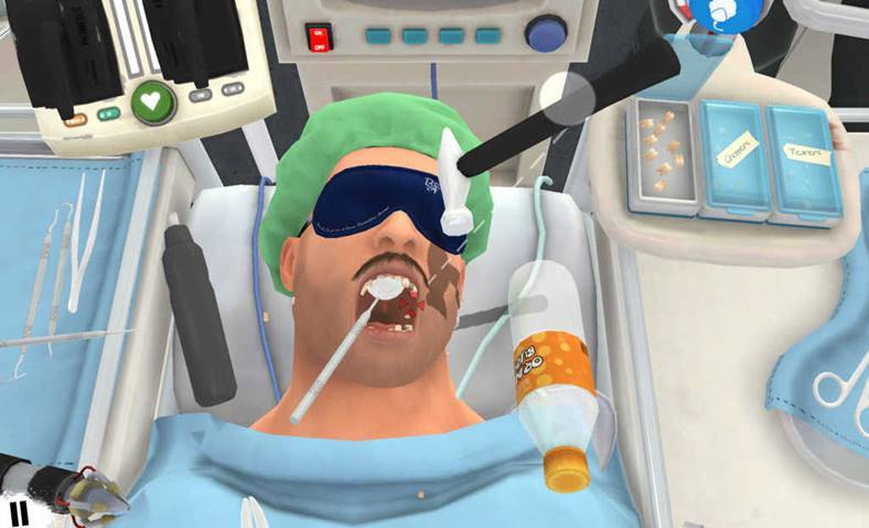 Surgeon Simulator chirurg iPhone iPad