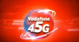Vodafone 4.5G 800 Mbps