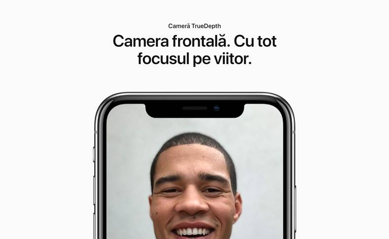 apple acuratete face id iphone x