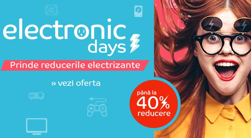 eMAG 8 octombrie Reduceri Electronic Days