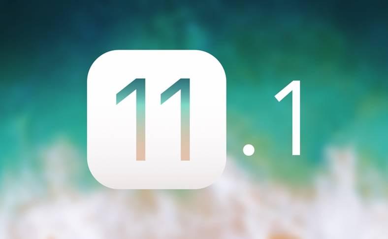 iOS 11.1 Schimbarea iPhone iPad