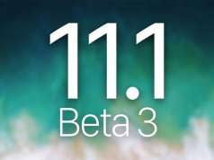 iOS 11.1 beta 3 Autonomia Bateriei