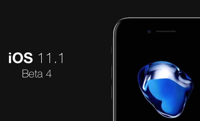 iOS 11.1 beta 4 schimbare iphone