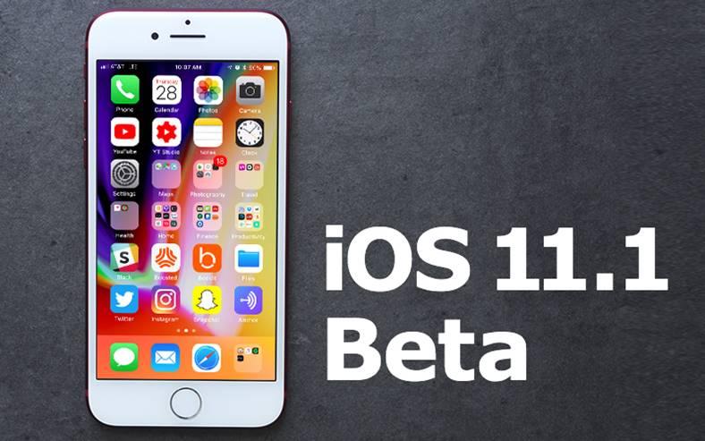 iOS 11.1 beta 5 grozav iphone