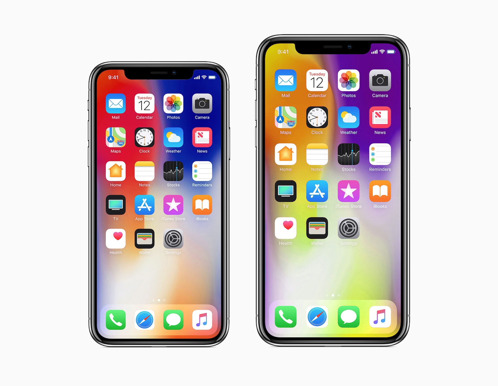 iPhone X Plus concept ecran 6.4 inch 6
