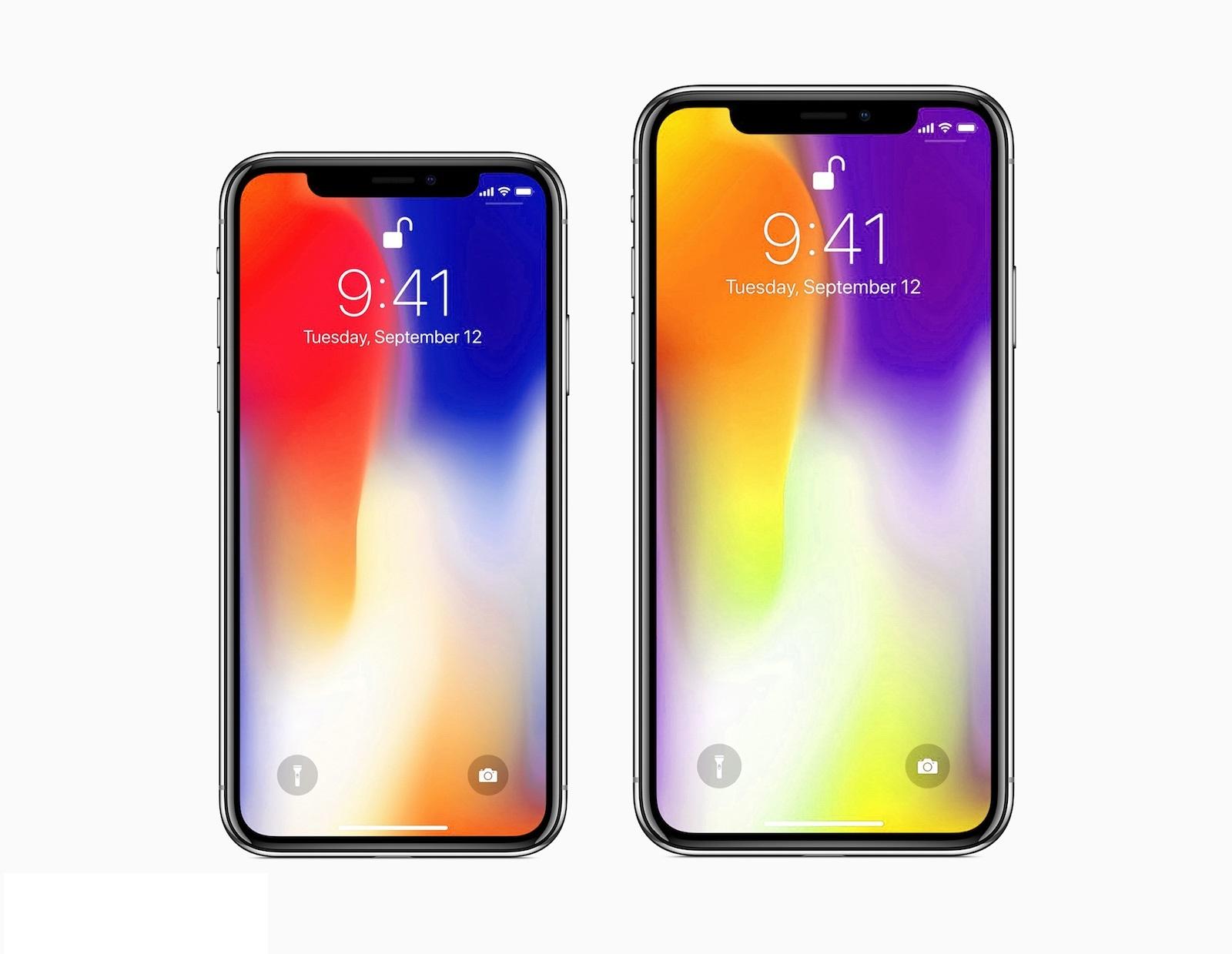 iPhone X Plus concept ecran 6.4 inch