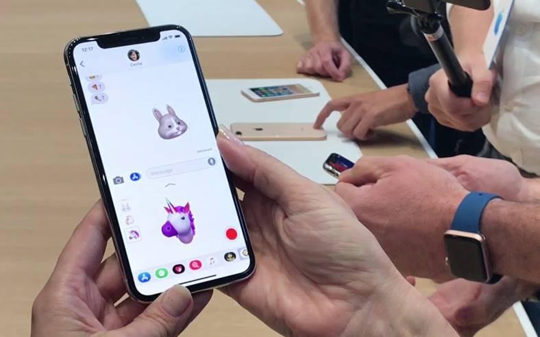 iPhone X acuratetea Face ID