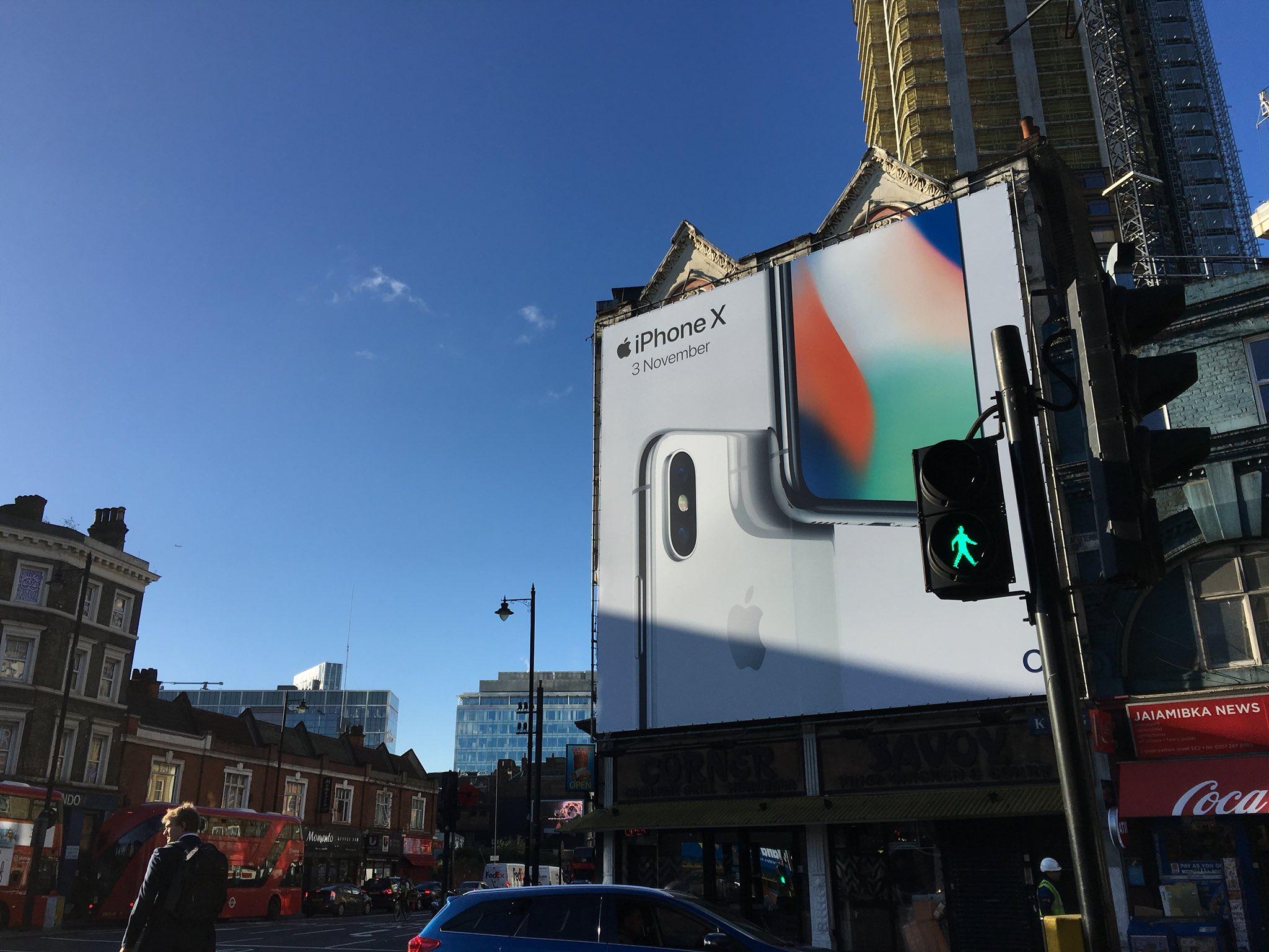 iPhone X apple promovare 3