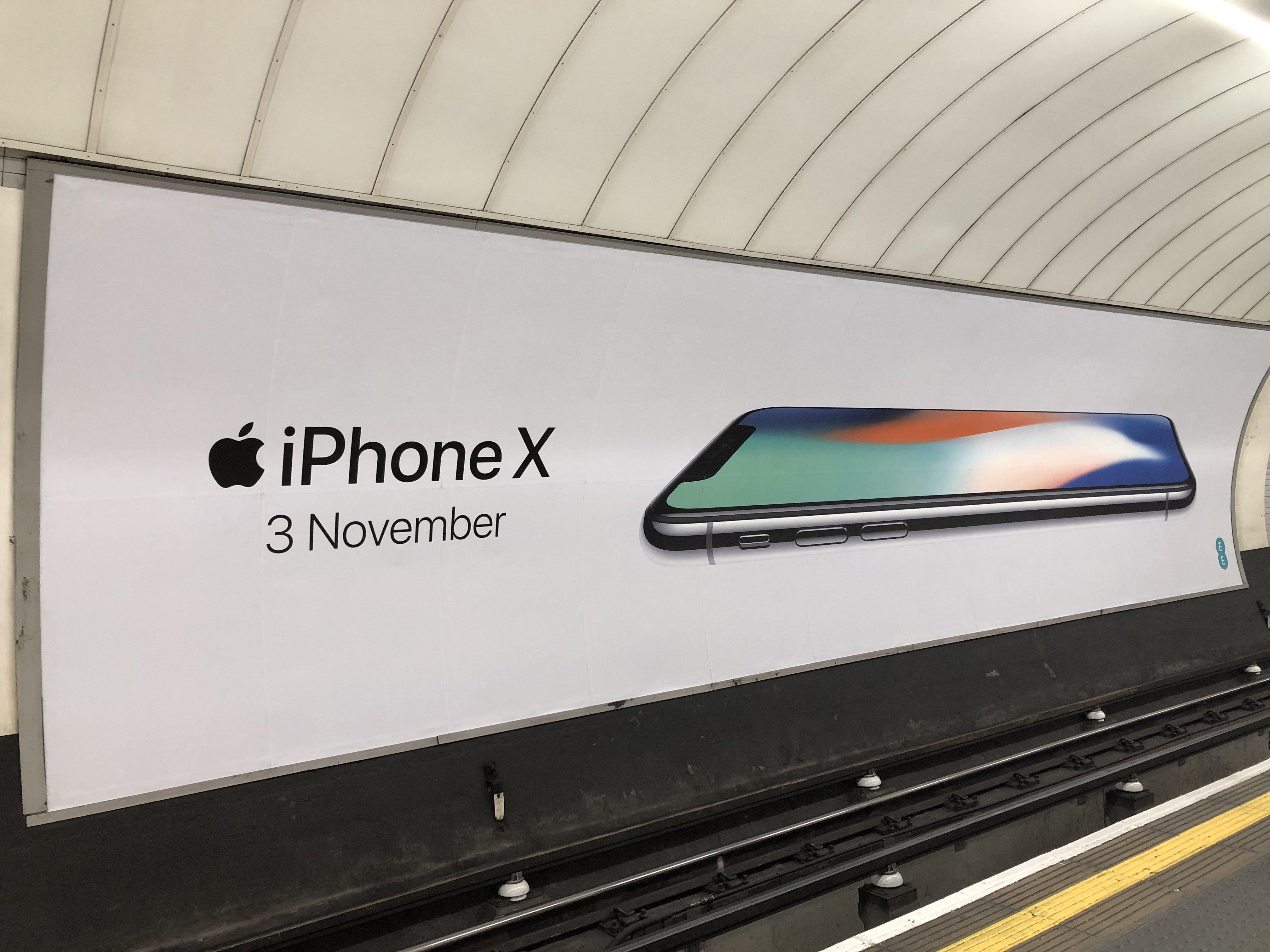 iPhone X apple promovare 4