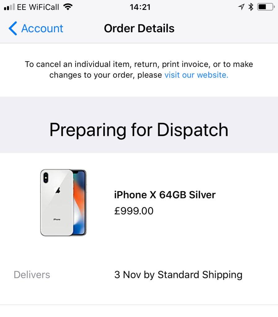 iPhone X unitati livrare
