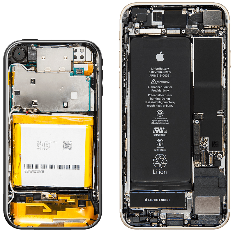 iPhone interior 10 ani