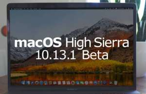 macOS High Sierra 10.13.1 beta 3