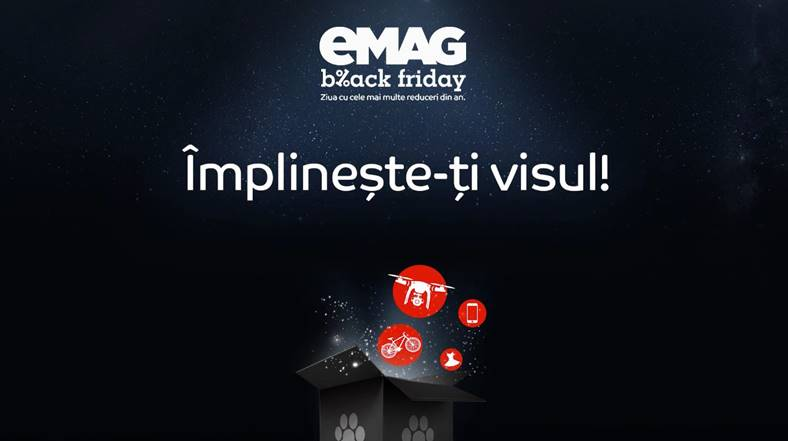 Black Friday 2017 eMAG TOP 10 REDUCERI