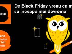 Black Friday 2017 reduceri Orange