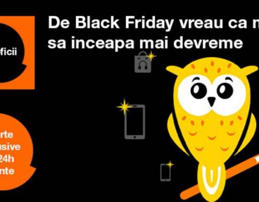 Black Friday 2017 reduceri Orange