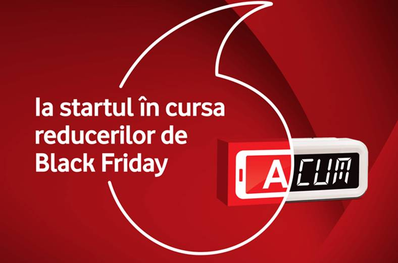 Black Friday 2017 reduceri Vodafone