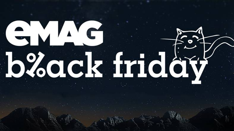 Black Friday eMAG cand incepe