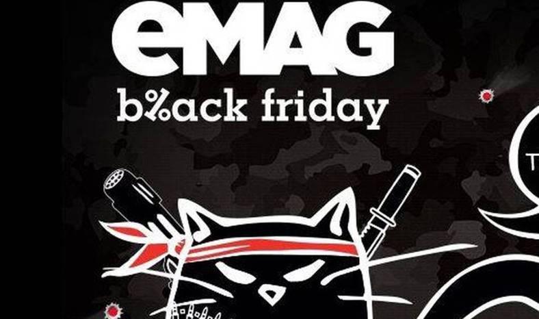 Black Friday eMAG reduceri colosale