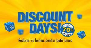 Flanco. Discount Days. reduceri black friday