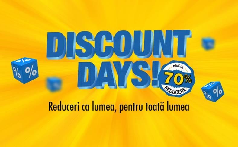 Flanco. Discount Days. reduceri black friday