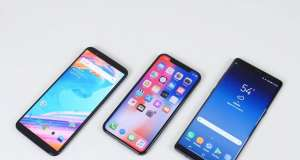 OnePlus 5T iPhone X Samsung Galaxy Note 8 incarcare baterie