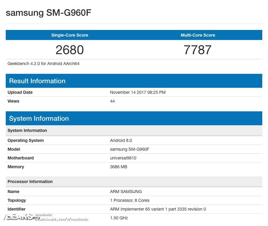 Samsung Galaxy S9 performante slabe