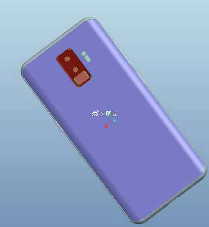 Samsung Galaxy S9 schita design 1