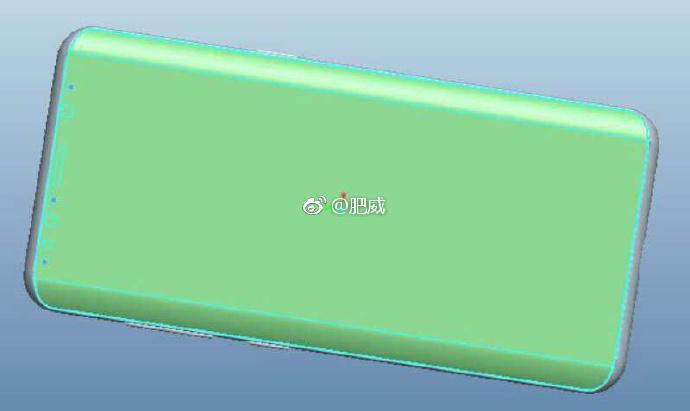 Samsung Galaxy S9 schita design
