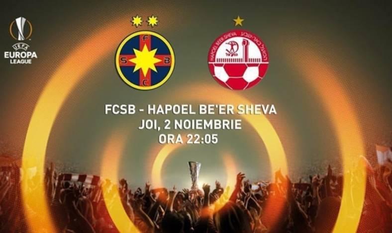 Steaua Beer Sheva PRO TV Live Fotbal Online