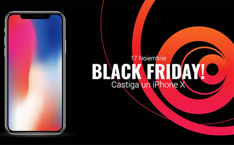 castiga iPhone X black friday 2017