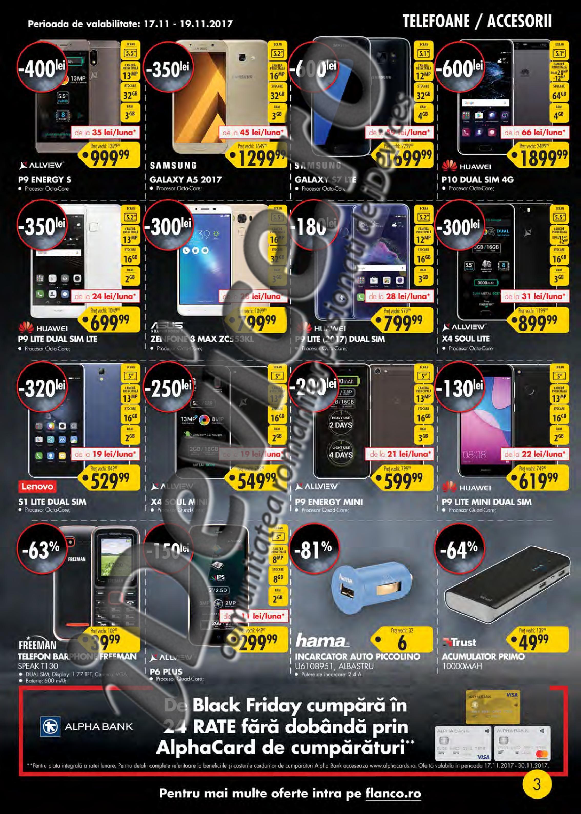 catalog reduceri Flanco Black Friday 2017 2