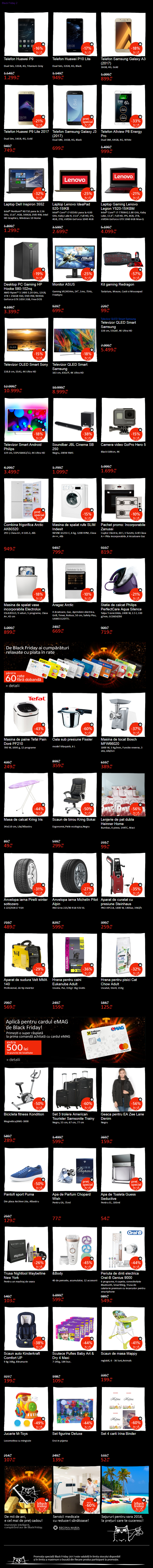 emag catalog reduceri valul 2 black friday