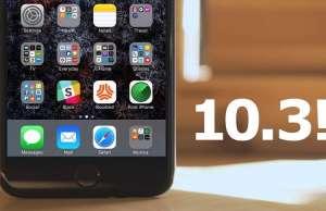 iOS 10.3.3 instalat iphone