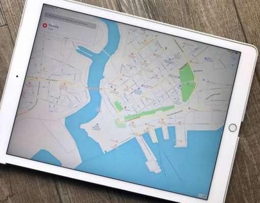 iOS 11 Apple Maps harta aeroporturi