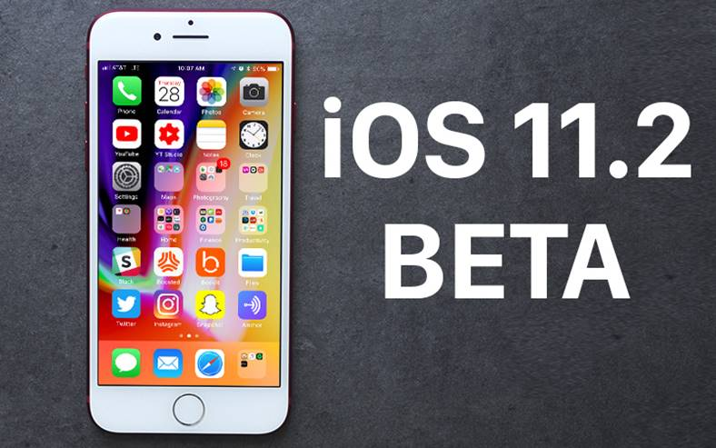 iOS 11.2 Beta 2 iPhone X