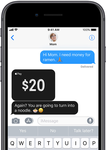 iOS 11.2 Public Beta 2 apple pay cash