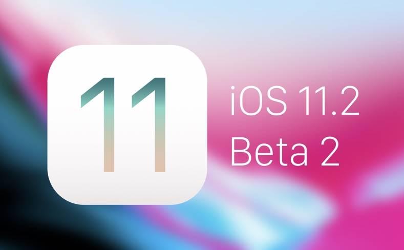 iOS 11.2 beta 2 noutati