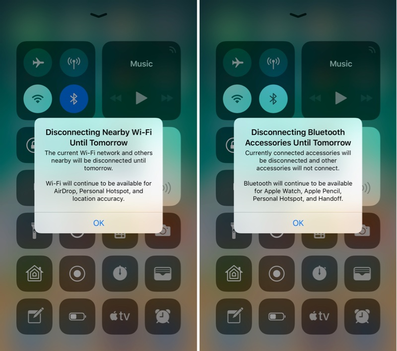 iOS 11.2 beta 3 wi-fi bluetooth
